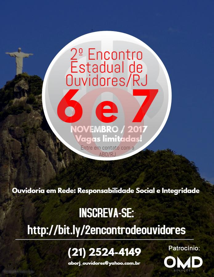 OMD Soluções patrocina o 2º Encontro Estadual de Ouvidores/RJ