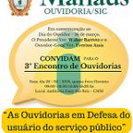 OMD realiza palestra no 3º Encontro de Ouvidorias em Manaus/AM