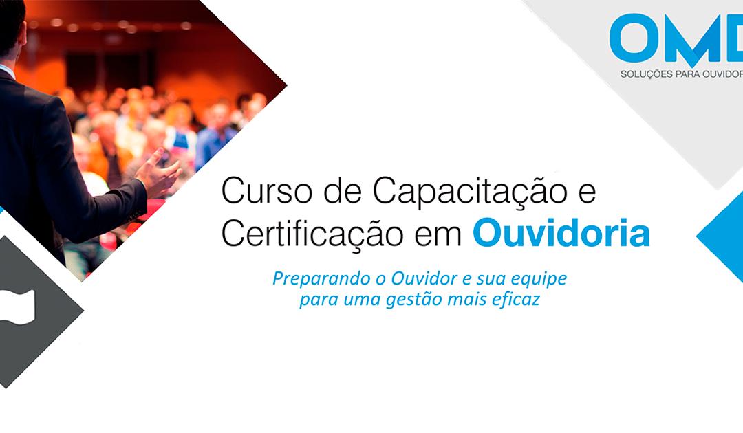 OMD promove certificação de Ouvidores de operadoras de saúde